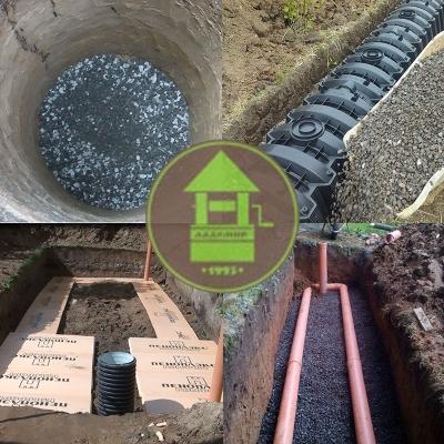 Фильтрующие сооружения для септика и автономной канализации