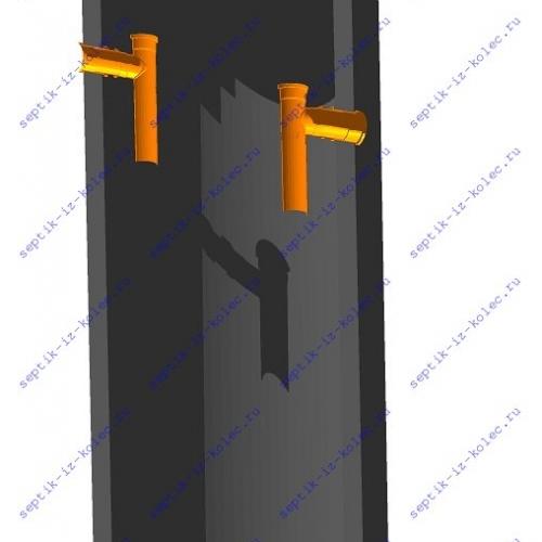 Септик из колец Ладомир 1-1.4 для дачи