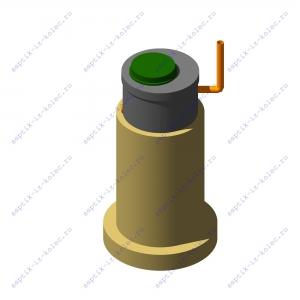 Фильтрующий колодец из 3-ёх железобетонных колец ФК 1,0 х 3