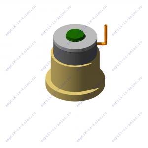 Фильтрующий колодец из 2-ух железобетонных колец ФК 1,5 х 2