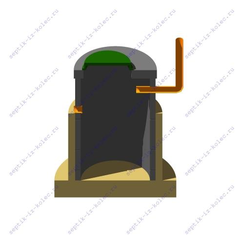 Фильтрационный колодец для канализации
