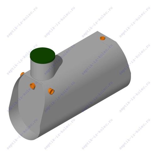 Пластиковый септик ЛАД 2.4