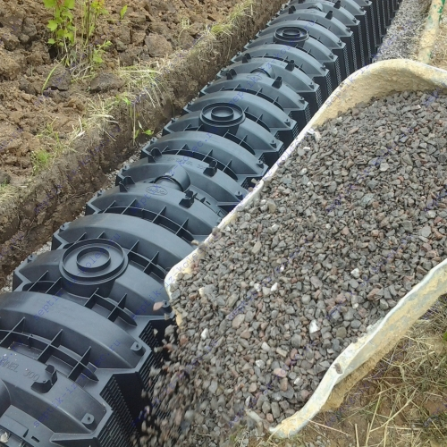 Дренажные тоннели для канализации
