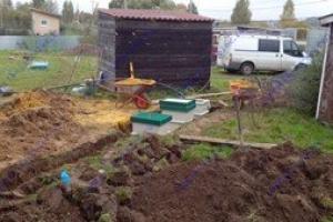 Устройство септика и водоснабжения дома